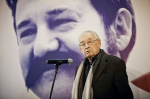 Oscar winning Polish director Andrzej Wajda started filming the movie about Lech Walesa